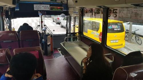 인천공항 갈 때 캐리어 들고 시내버스 탈 수 있다