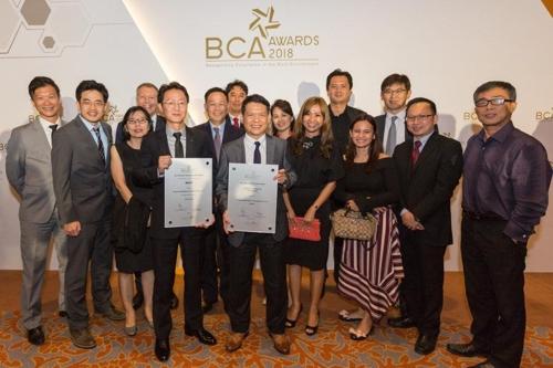 현대건설, 3년 연속 싱가포르 건설 품질대상
