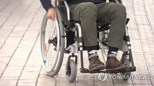 휠체어[연합뉴스TV 제공]