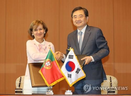한국·포르투갈 항공협정 서명…직항편 운항 가능해져