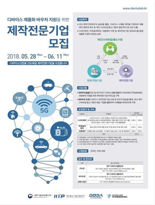 [게시판] 과기부, ICT 아이디어 제품화 지원사업 공고