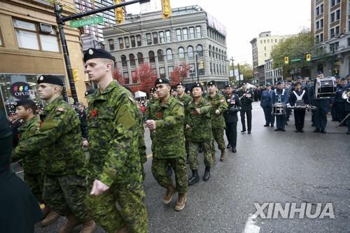 캐나다군, 자격요건 국적 조항 폐지…외국인 충원도 검토