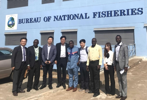 KT, 서부 아프리카 해역서 불법어업 감시한다