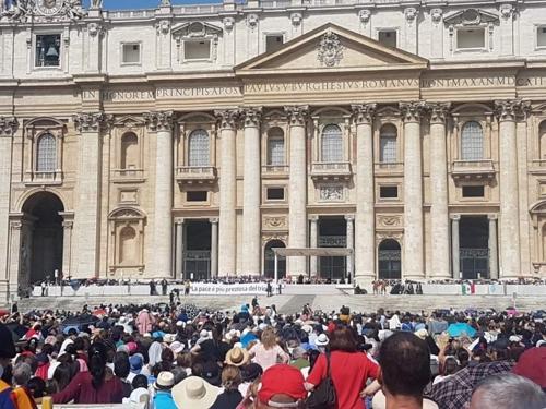 태권도 시범단, 바티칸에 평화의 메시지