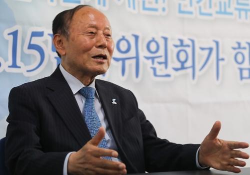 """[묻고 답하다] 6·15위원회 이창복 의장 """"민간교류가 곧 통일운동"""""""