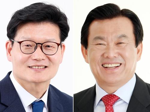 [격전지를 가다] 충남 공주시장 선거전 '4년 만의 리턴매치'
