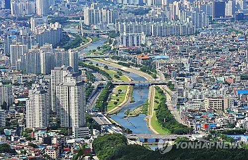 대구 신천 일대 전경     [연합뉴스 자료사진]