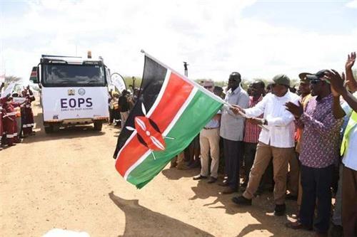 케냐, 국내 유전서 생산한 원유 수출 운송 시범사업 개시