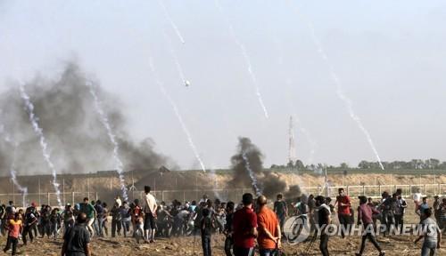 팔레스타인 20대 청년, 이스라엘군 총격에 사망