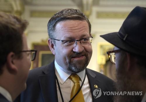 서배스천 고카 전 백악관 국가안보회의 부보좌관