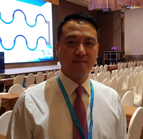 제7회 중국 (광둥)-한국 발전 포럼장에서 만난 위 부시장