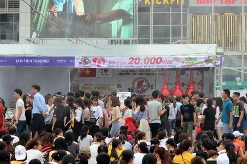 베트남 K푸드 홍보행사 성황