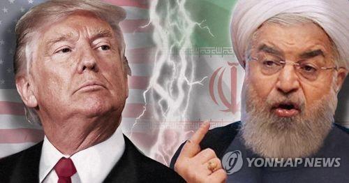 미국과 이란의 갈등[제작 정연주] 사진합성(APF)