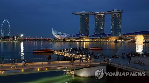 싱가포르 명소 마리나베이샌즈 호텔 주변