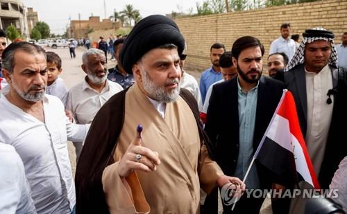 이라크 시아파 성직자 무크타다 알사드르[AFP=연합뉴스자료사진]