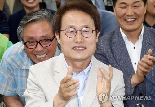 조희연, 출구조사 47.2%로 유력