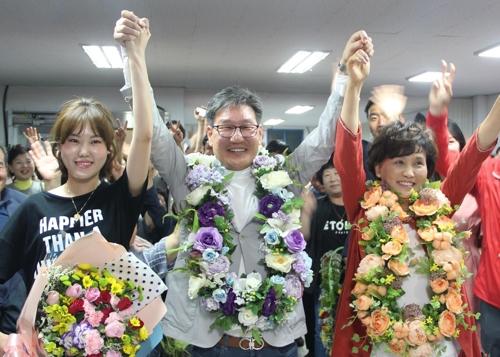 박세복 영동군수 당선인 가족