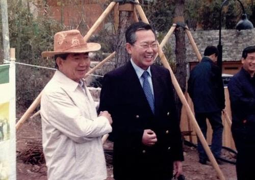 노무현 전 대통령과 박남춘 후보