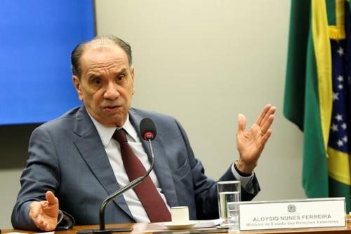 알로이지우 누네스 브라질 외교장관
