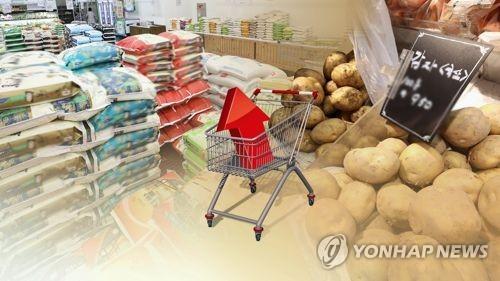 쌀 감자 가격 상승 [연합뉴스 자료 이미지]