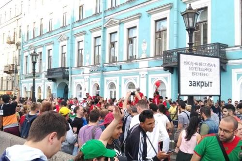 [월드컵] 상트페테르부르크 '피의 사원', 오늘만은 '축구의 성지'
