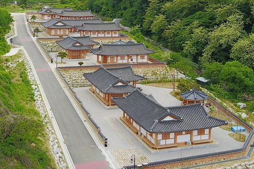 장수 대곡관광지 한옥 숙박시설[장수군제공=연합뉴스]