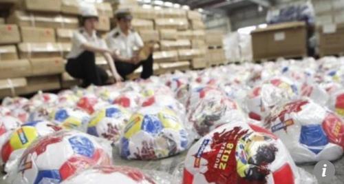 중국, '짝퉁 월드컵 물품' 대대적 단속