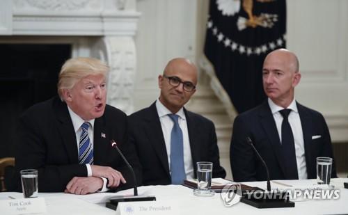 """트럼프, WP 노사갈등에 기름붓기…""""긴 파업이 좋은 생각"""""""