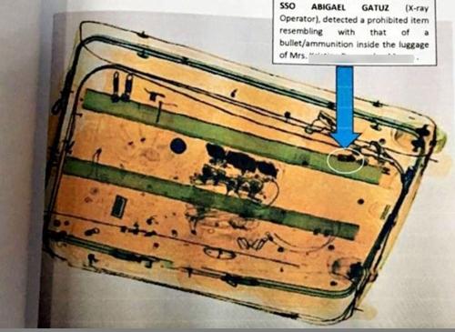 필리핀 대통령 격노하게 한 마닐라 공항 '총알 심기' 의혹