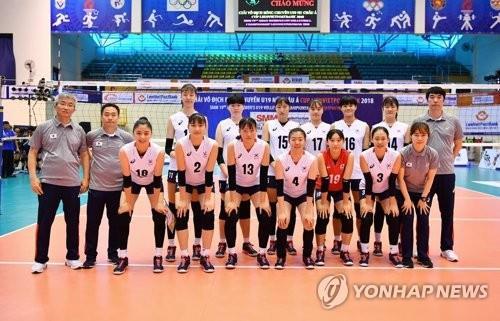 한국여자청소년배구, 베트남 꺾고 아시아선수권 5위로 마감