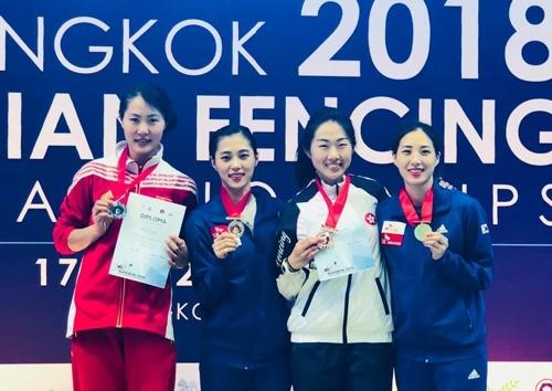 펜싱 김지연, 아시아선수권 여자 사브르 개인전 2연패