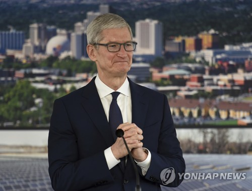 미중 무역전쟁 와중에도 중국산 아이폰 보복관세 면제?