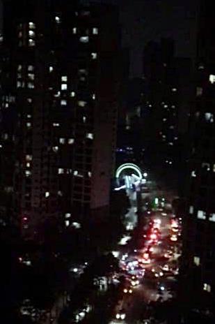 일산 아파트 30층에 불…한밤중 주민 대피 소동