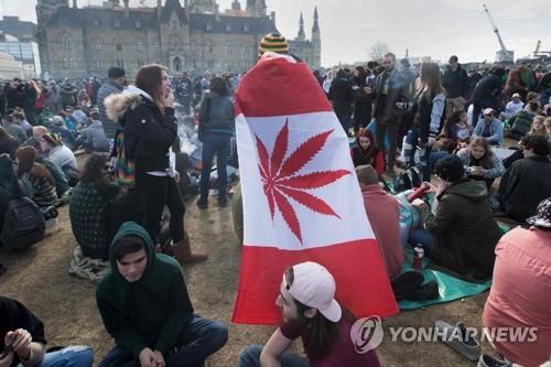 캐나다, 마리화나 합법화 마무리…상원서 최종 의결