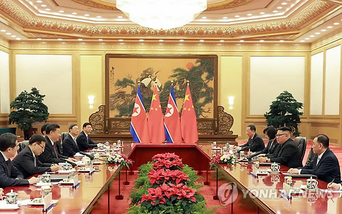 김정은 방중 배석자들로 본 북중협력…中 체제안정책도 전수
