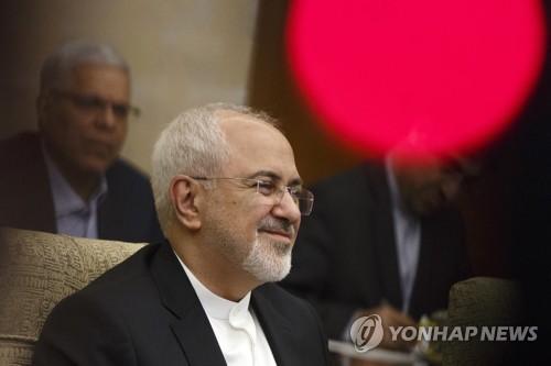 """이란외무, 폼페이오에 편지…""""역사 교훈삼아 이란주권 존중해야"""""""