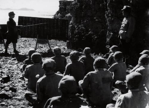 1943년 11월 6일 선감학원 야외교육 장면
