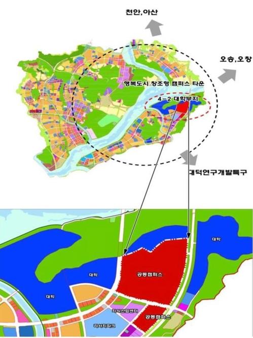 세종시 공동캠퍼스 5천명 정원…별도 법인 세워 운영