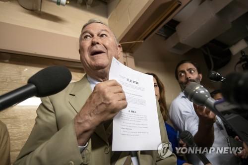 美의회서 '하나의 중국' 부정…대만과 복교 결의안 제출