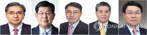 포스코 회장후보 5人…정치권 구설 덜 탄 포스코맨들