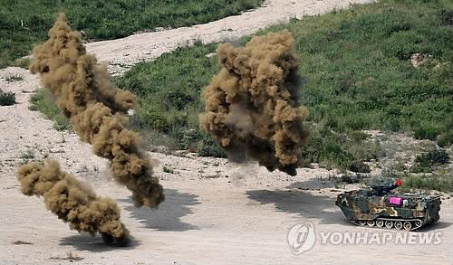 """국방부 """"한미 해병대연합훈련 KMEP 무기한 유예"""""""