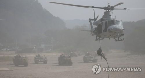 '무기연기' 한미해병연합훈련 KMEP는…서북도서 방어 등 목적