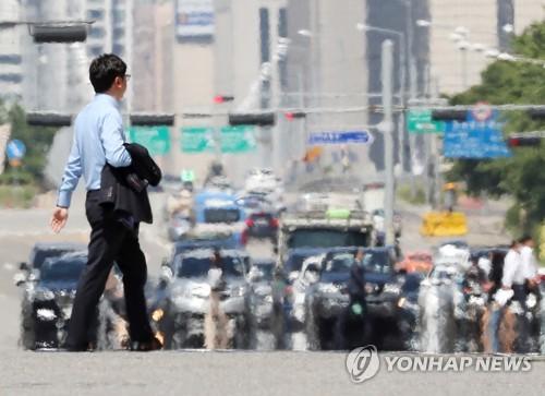 대전·세종·충남 올해 첫 폭염주의보…최고기온 33도