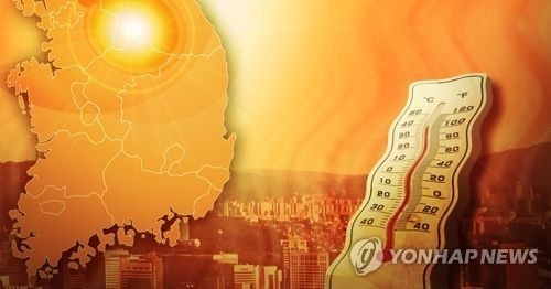 """전북 7개 시·군 폭염주의보…""""낮 최고기온 33도 웃돌아"""""""