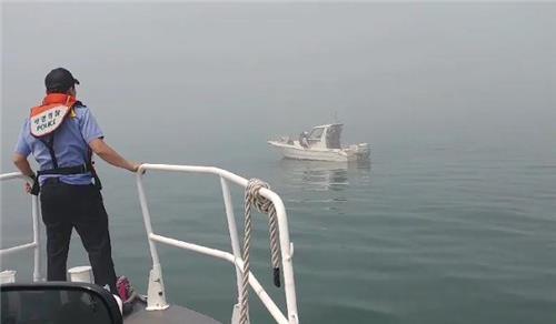 해상서 표류 보트 인천해경 잇따라 구조