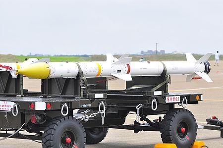 대만 공대공 미사일 톈젠-2 [위키피디아 캡처]