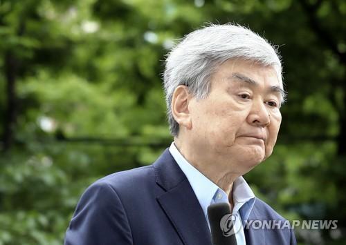 법원, 횡령·사기 조양호 한진회장 구속영장 기각(2보)