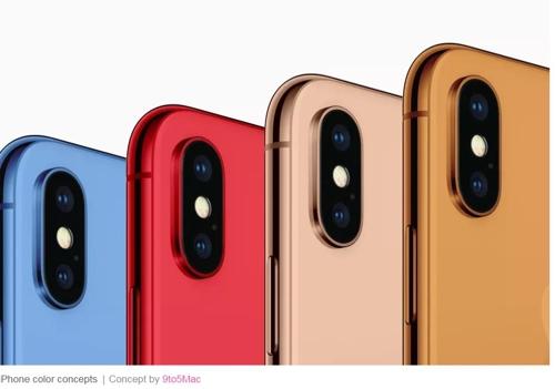 애플, 올가을 블루·오렌지·골드 아이폰 내놓을 듯