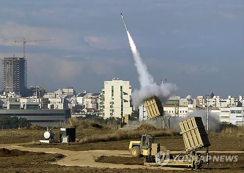 이스라엘군의 아이언돔 방공 미사일[EPA=연합뉴스 자료사진]