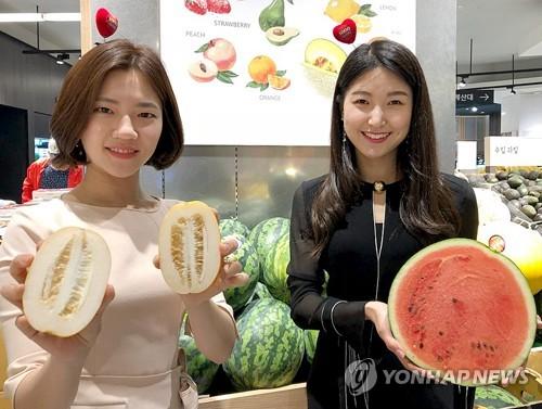 수박과 참외 [연합뉴스 자료 사진]